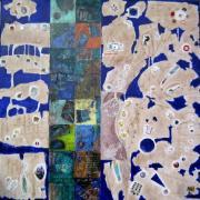 Camaïeu lapis lazuli