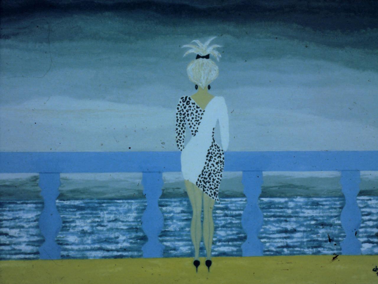 La sirène au balcon bleu *