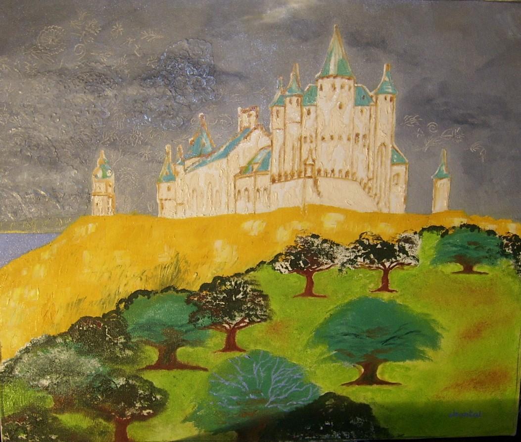 Le château au bord de la mer
