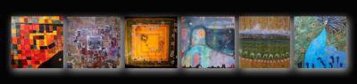 Acryliques sur toile de Chavi